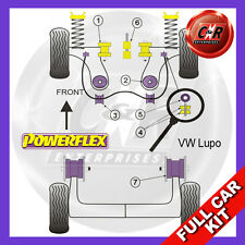 VW Lupo (1999 - 2006) Powerflex Complete Bush Kit Not GTI