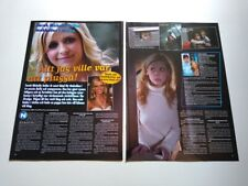 Sarah Michelle Gellar Prinze Buffy Magnus Uggla clippings Sweden