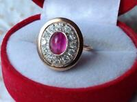 Nice Fashion Vintage Jewelry Gilt Sterling Silver 925 Woman's Ring Size 8