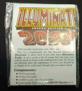 2020 Illuminati Card Table Game C0V1D-19 BLM Defund Police Biden Trump Munchkin
