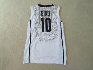 UCONN Legend #10 Sue BIRD Stitch Home White Jersey Men S New Nice^