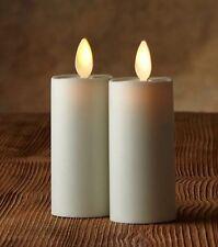 "Luminara 1.75"" x 3"" Votive Realistic Flame LED Plastic Candle Light 2 pack"