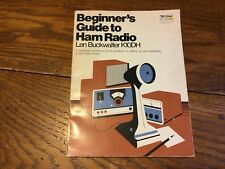 Beginner's guide to ham radio Buckwalter, Len Paperback Amateur Station Set Up