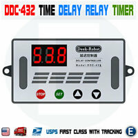 DDC-432 Time Delay Relay Timer LED Digital Display DC 5V-30V Dual MOS Switch USA