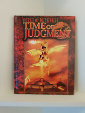 Time of Judgment, World of Darkness, Hardcover, RPG, White Wolf