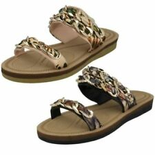 Braided Synthetic Sandals & Flip Flops for Women