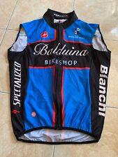 CASTELLI Gilet Smanicato Windstopper Ciclismo TG.M
