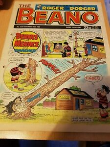 Beano comic - issue 2419