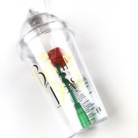 Disney Store Light Up Cup Tumbler Straw Beauty and The Beast Enchanted Rose