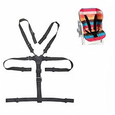 Amcho 5 Point Harness Baby Chair Stroller Safety Belt Universal High Chair Seat