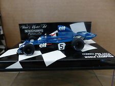 Minichamps 1:43 Jackie Stewart TYRELL 006 F1 campione mondiale 1973