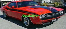 1971 Dodge Challenger R/T Upper Body Tape Stripe KIT MOPAR