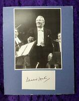 Former UK Prime minister Edward Heath Photo with Handwritten Signature/Autograph