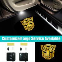 2pcs Courtesy Wireless Car Door Laser Projector Shadow LED Lights 001-445