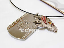 Anime Bleach Kurosaki ichigo Broken mask double pendants metal alloy necklace!