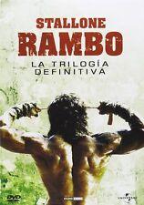 PELICULA DVD PACK TRILOGIA RAMBO EDICION METALICA __2