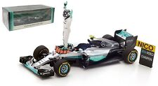Spark S5025 Mercedes W07 Abu Dhabi 2016 - Nico Rosberg World Champion 1/43 Scale