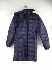 1250C Moncler Hermine Navy Hooded Puffer Jacket Women's Sz 3 (L US)
