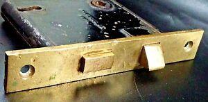 Antique Vintage Corbin Brass Mortise Deadbolt Door Lock Dec. 25 , 1877