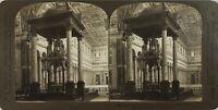 Italia Roma Chiesa st. Paul, Foto Stereo Vintage Analogica PL60OYL4