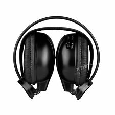 Wireless IR dual Channel Stereo headphones Infrared Headsets Cordless 2 CHANNELS
