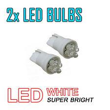 2X Led Side Light Xenon White Car Bulb 501 T10 W2,1X9,5D 4X Led 12V Dc Wedge 69