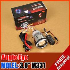 "3.0"" M331 Universal Motorcycle Bike HID BI-XENON PROJECTOR CCFL Halo Angel Eye"