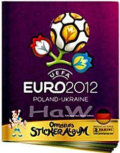 Panini EM 2012 12 - Deutsche Ausgabe - komplette Serie mit Leeralbum
