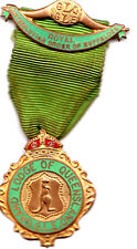 Royal Order of Buffaloes Medal 1953 Queensland Lodge Attractive