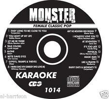 KARAOKE MONSTER HITS CD+G FEMALE CLASSIC POP #1014