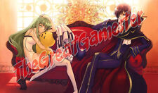 Code Geass C.C. amd Lelouch Couch Custom Playmat / Gamemat / Mat #336943