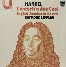 Handel: conciertos un debido Cori: Raymond Leppard