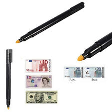 counterfeit money detector mini pen fake forged banknote bills notes checker pen