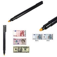 Counterfeit Money Detector Mini Pen Fake Forged Banknote Bills Notes Checker Pen