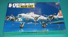Boeing B-17G Flying Fortress Nose Art Hasegawa 1/72 Factory Sealed.