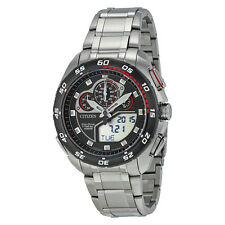 New Citizen JW0111-55E Eco-Drive Promaster Super Sport Digital Analog Mens Watch