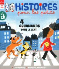 Histoires pour les petits N°219 - 4 gourmands dans le vent + le CD de l'histoire