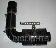 BlingLights Carbon Fiber Cold Air Intake 76mm Diameter + Sensor Adapters