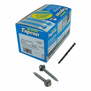 """Tapcon SCOTS 1/4"""" x 1-3/4"""" Stainless Steel Hex Head ClimaSeal Concrete Anchor Sc"""
