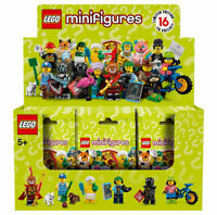 LEGO Series 19 Minifigures Collectible Sealed Box Case of 60 Minifig Packs 71025
