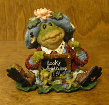 """Boyds Ribbit & Co. #36705 Ms. Lilypond.Lesson Number One.""""Look Before Leap"""""""