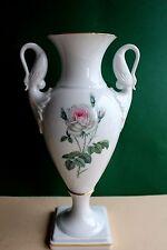 Kaiser Vase, Amphore  Dekor Rose,  Höhe 34 cm
