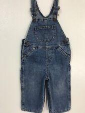 Levi's Denim Bib Overalls S2076 18 Months  Toddler Boys Inseam 10