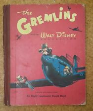 The Gremlins by Roald Dahl - 1st edition book - VERY RARE!! - Acceptable