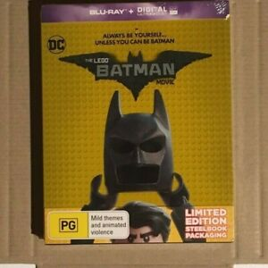 Blu-ray + 3D & Steel Book Movie Titles Select From List
