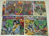 WILDCATS ADVENTURES #1-10 +SOURCEBOOK IMAGE 1994 SET (11)