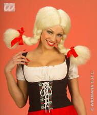 Blonde Plait Wig With Bendable Bunches Rag Doll Dolly Fancy Dress