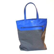 J-2835207 New Bally True Blue Tote Messenger Bag Handbag Bag Purse