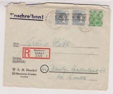 Bizone, Mi. 51ii, 40i (2), R-Hannover-Linden, 17.8.48, AK