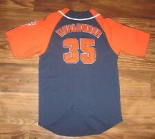 MLB Detroit Tigers Justin Verlander Boys Jersey, Genuine MLB, Blue, Size M, EUC